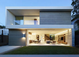 Modern Dwelling Crescent Drive EYRC Modern Architects San Francisco California
