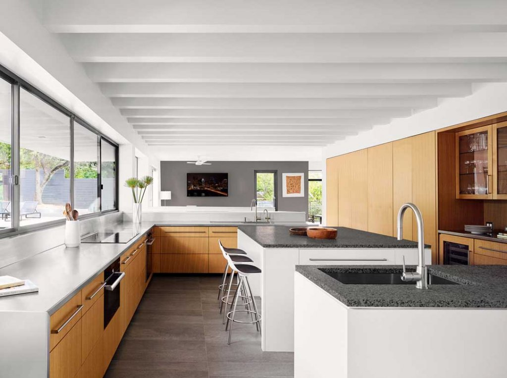 Kitchen: Treetops House Austin Texas by Specht Architects Modern Home Photo