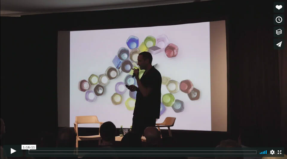 A video by Omer Arbel - lead designer at Bocci Design