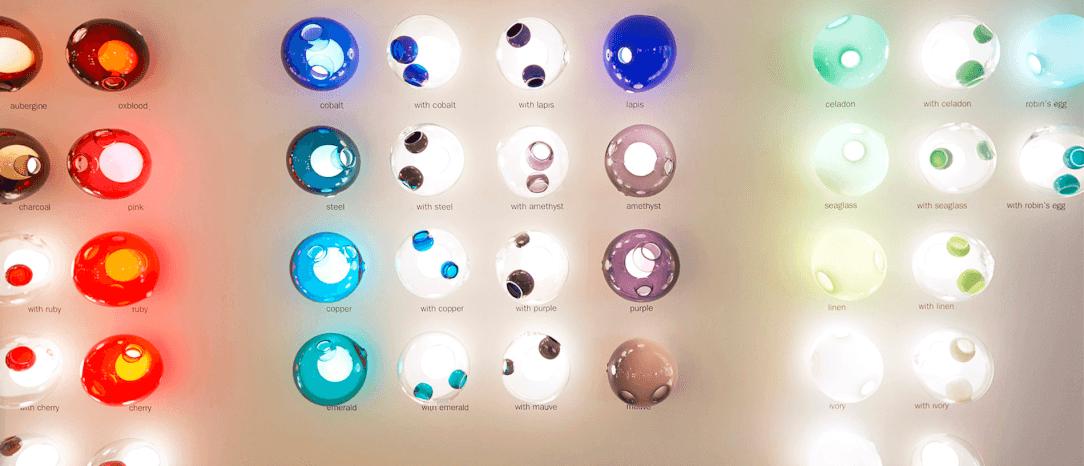 Design Selections - Bocci Design Lights - 28s Series Surface Mount Lights