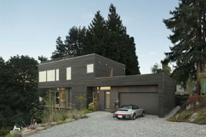 Hill House by Hybrid Architecture Seattle Washington Modern Home Photo